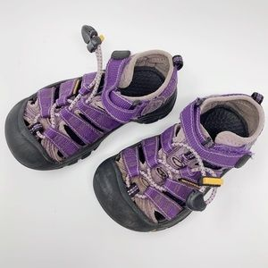 KEEN purple gray waterproof sandals